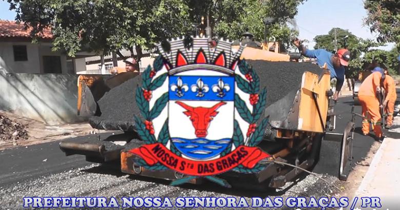 Governo Municipal de Nossa Senhora das Graças vai investir mais de R$ 2 milhões em obras de recapeamento asfáltico