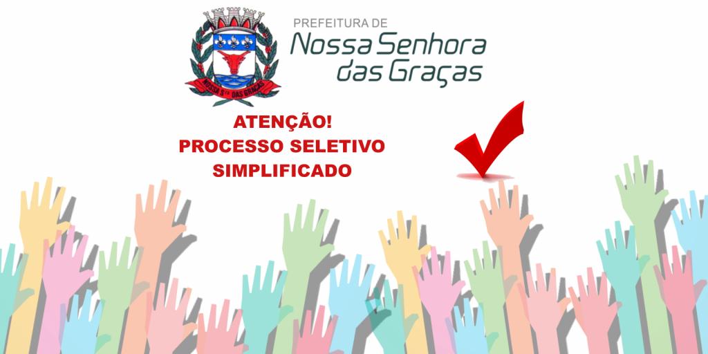 EDITAL DE CONVOCAÇÃO 001 -2021 DO PSS